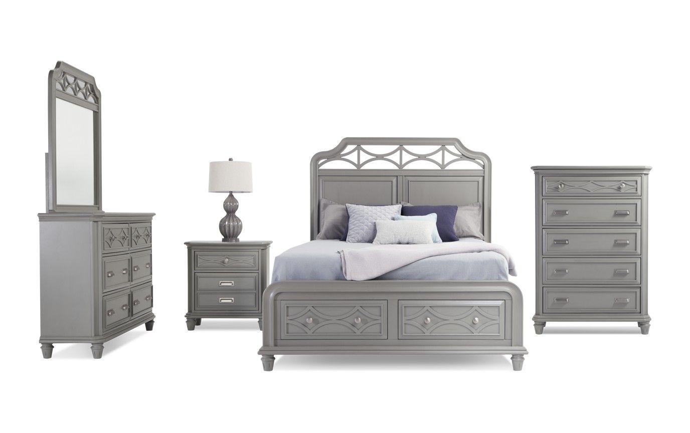 Best Mystic Bay Twin White Storage Bedroom Set Bedroom 400 x 300