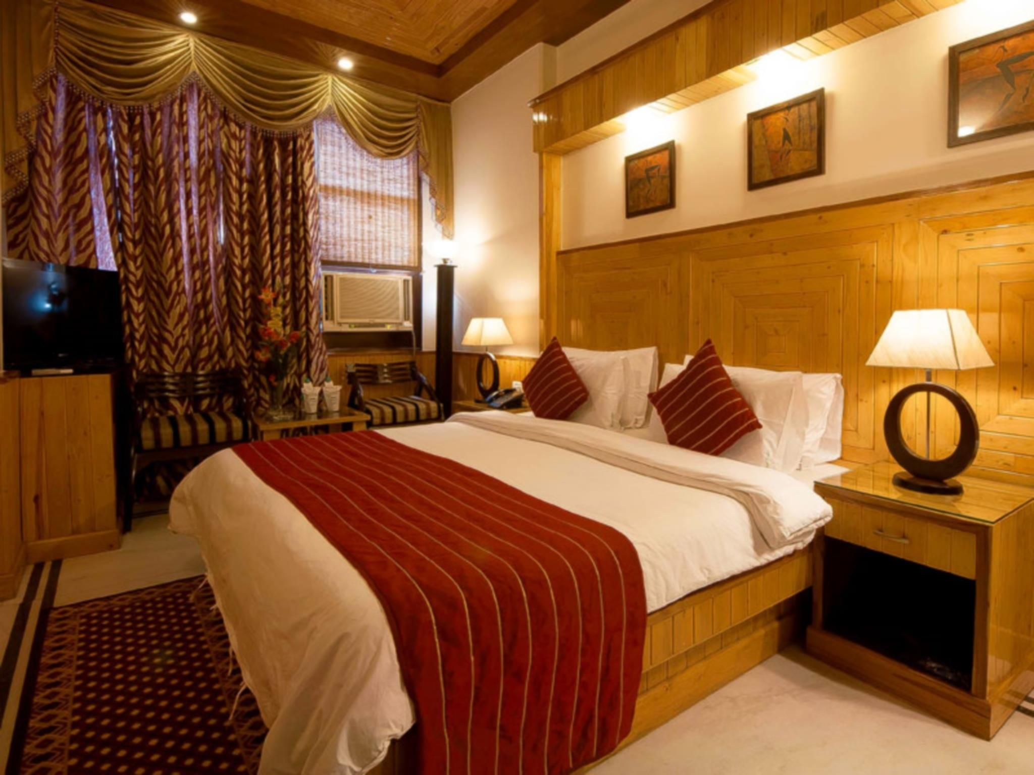New Delhi and NCR Wood Castle Hotel India, Asia Located in