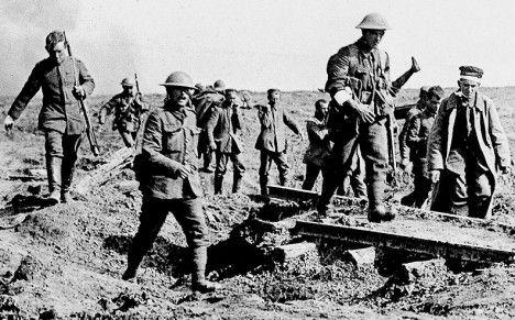 First World War in 1914