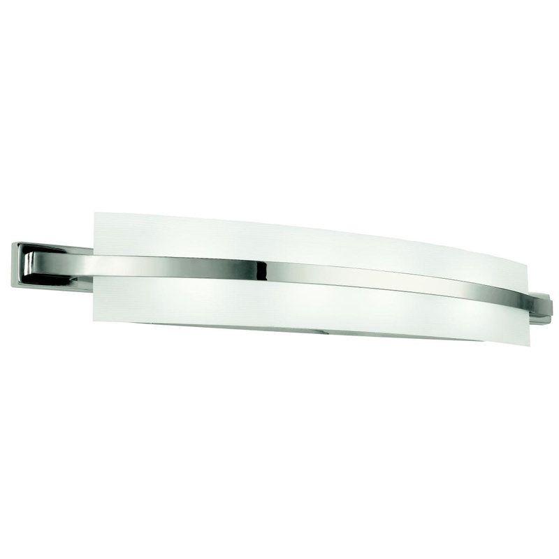 "Bathroom Lighting Fixtures Polished Nickel view the kichler 45088 freeport 36"" wide 4-bulb bathroom lighting"