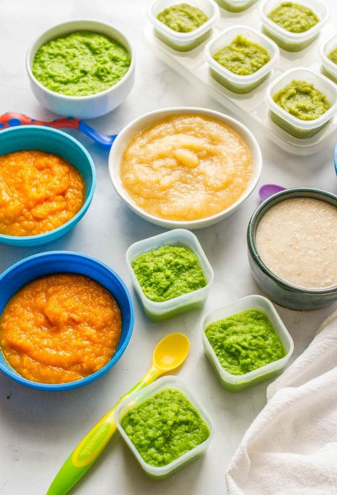 Homemade baby food peas green beans applesauce butternut squash food forumfinder Gallery