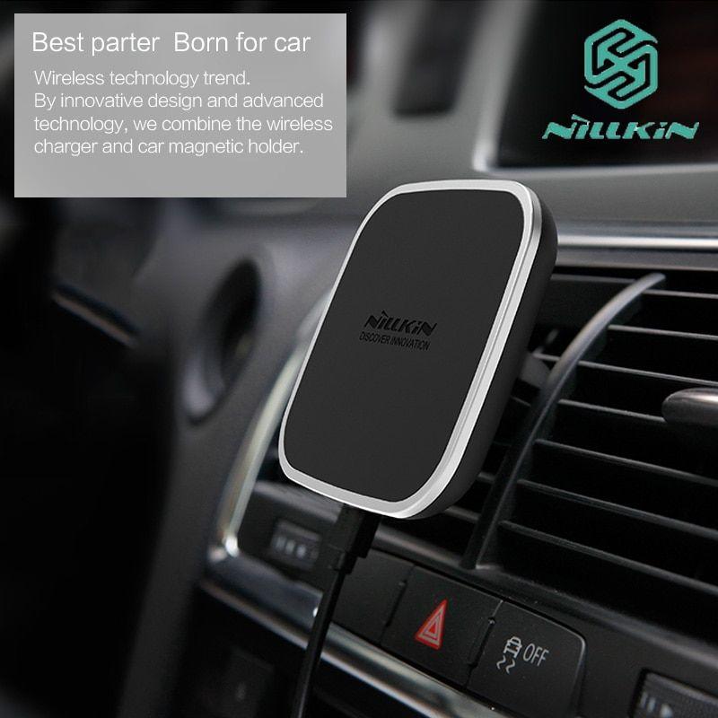 Nillkin Car Magnetic Qi Wireless Charging Holder Air Vent