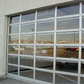 A Clear Paneled Tilt A Door Can Turn A Dining Room Into