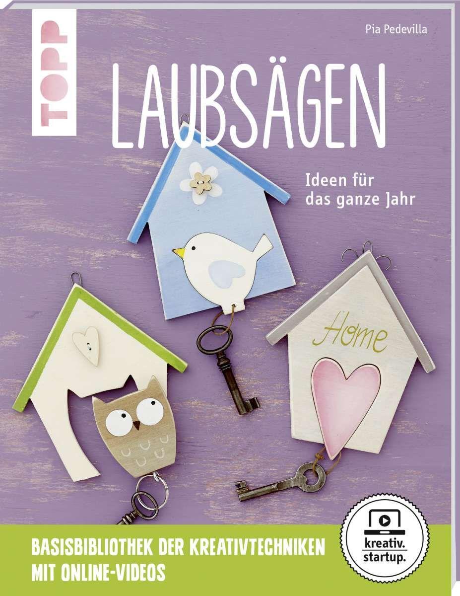 Laubsagen Kreativ Startup Bastelbucher Weihnachtsdeko Holz Kreativ