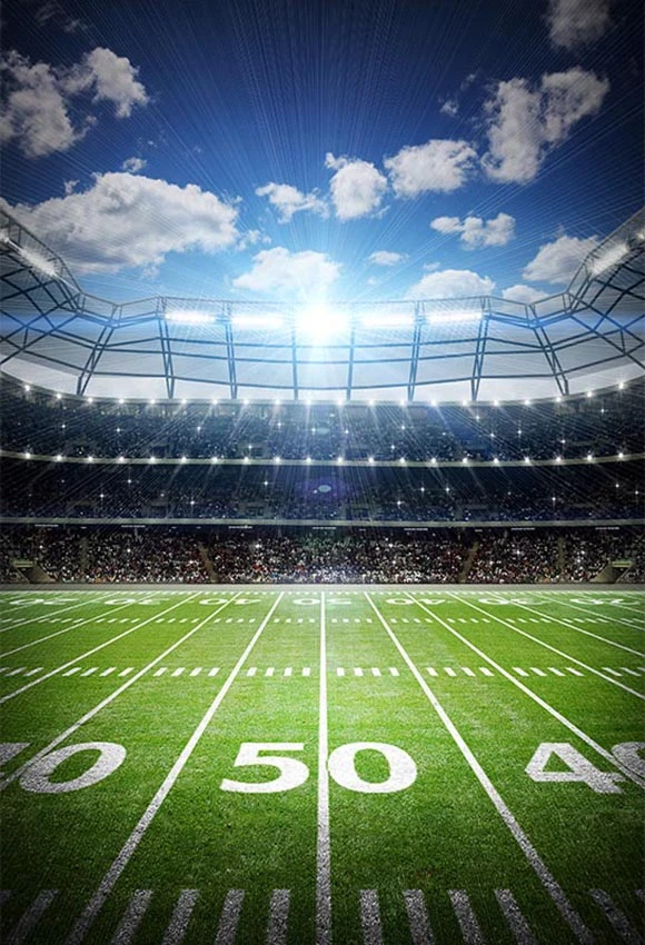 Stadium Football Field Sports Backdrop For Photography Lv 030 Dbackdrop Football Field Background Football Background