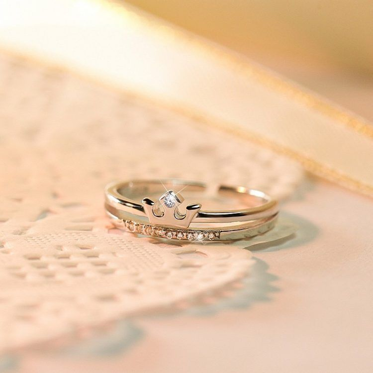 Korean Wedding Ring Design Crown Jewelry Pinterest