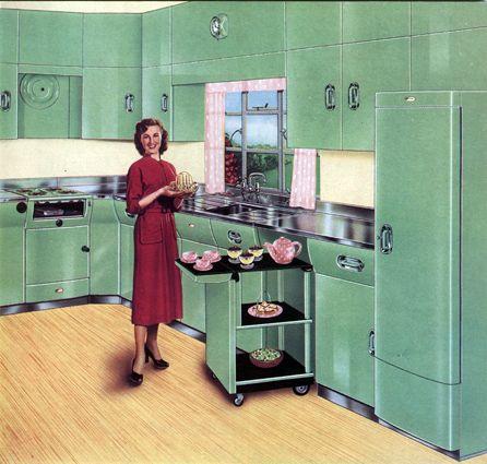 cuisine anglaise de couleur verte de la marque english. Black Bedroom Furniture Sets. Home Design Ideas