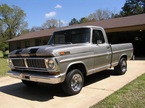 Find Used 1970 Ford F100 Swb Pickup Truck In Camden Arkansas United States Pickup Trucks Trucks Ford Pickup