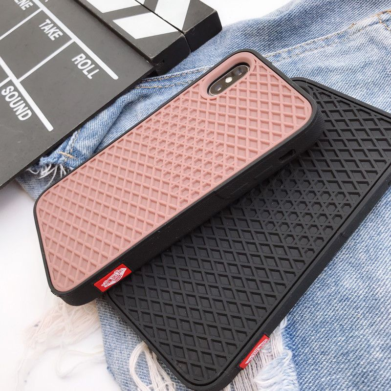 d892ce5ce6 VANS OFF THE WALL CASE Waffle Soft silicon cover case for iphone X 6 6S 7 8  plus