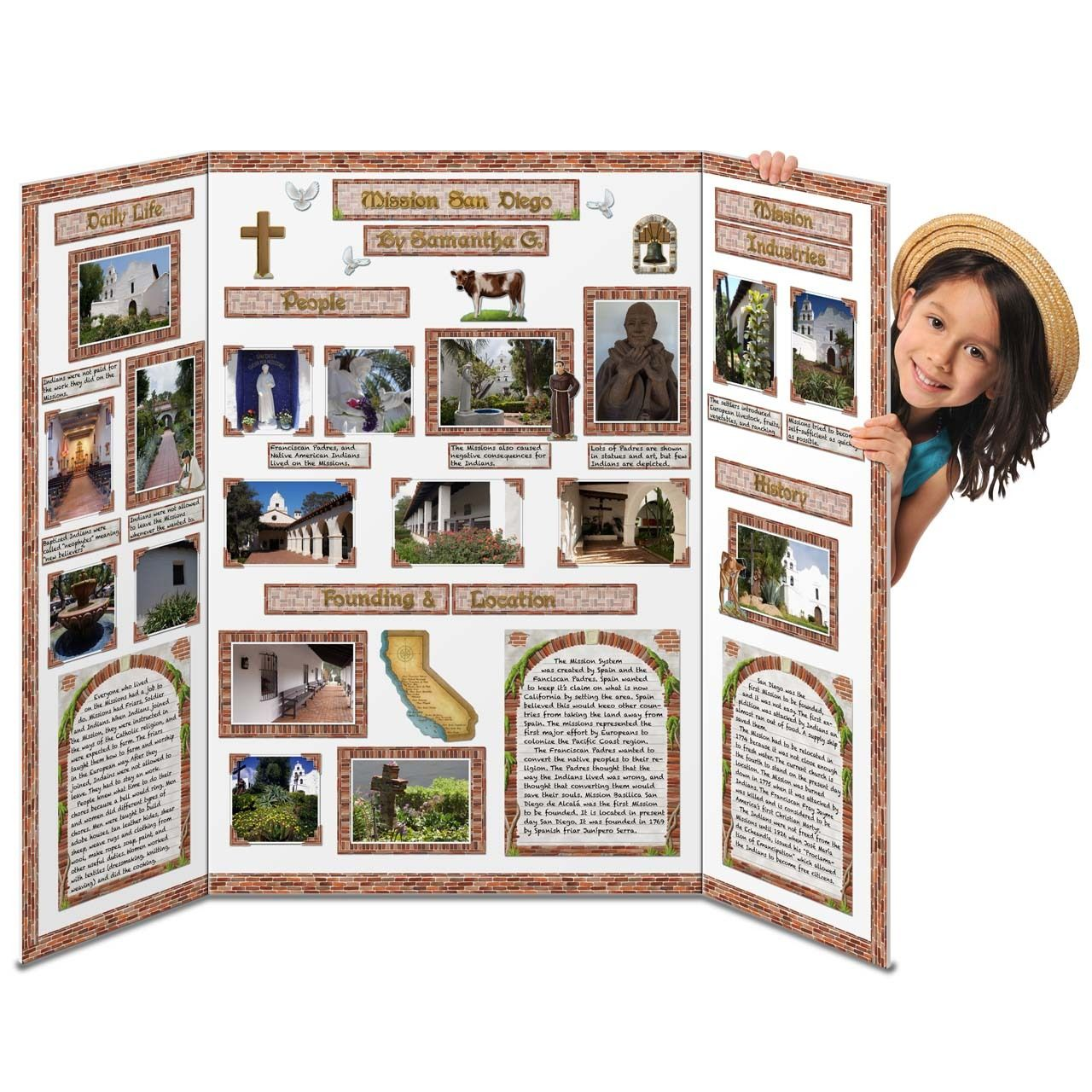 poster board for missions