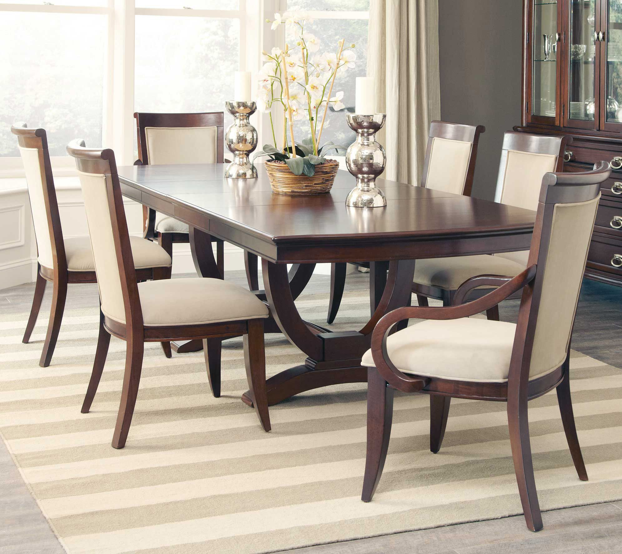 Alyssa Double Pedestal Dining Room Set Coaster Home Gallery