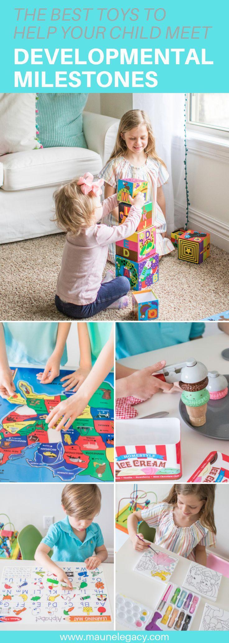 Best Toys To Help Your Child Reach Developmental Milestones | Maune Legacy