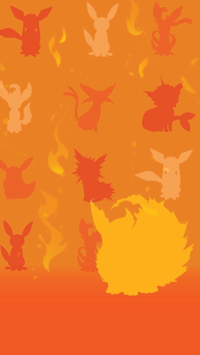 Flareon Wallpaper Eevee Evolutions Pokemon Eeveelutions Cute Pokemon Wallpaper
