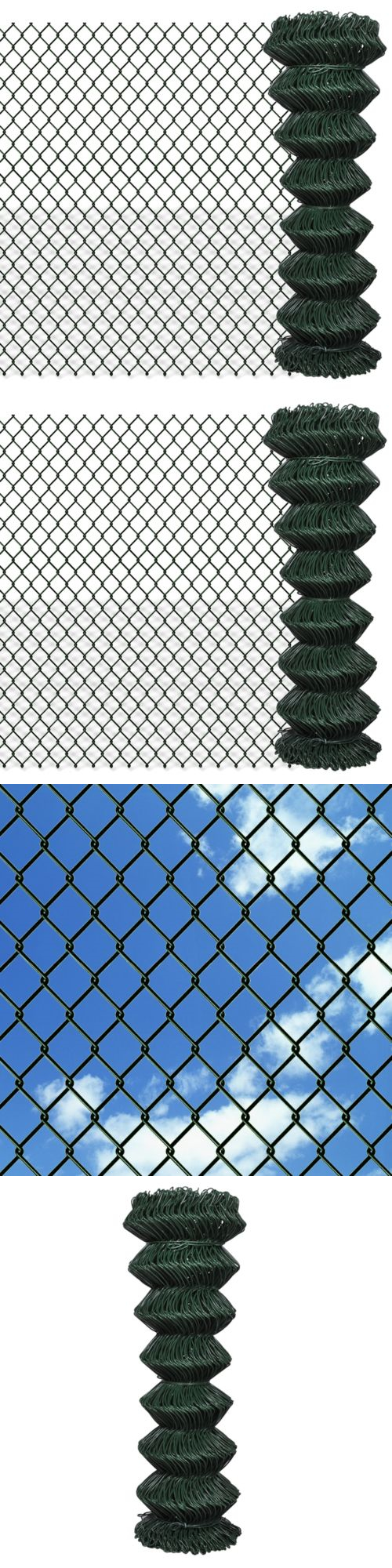 Other Garden Fencing 177033: Patio Outdoor 4 1 X 82 Chain Link Fence ...
