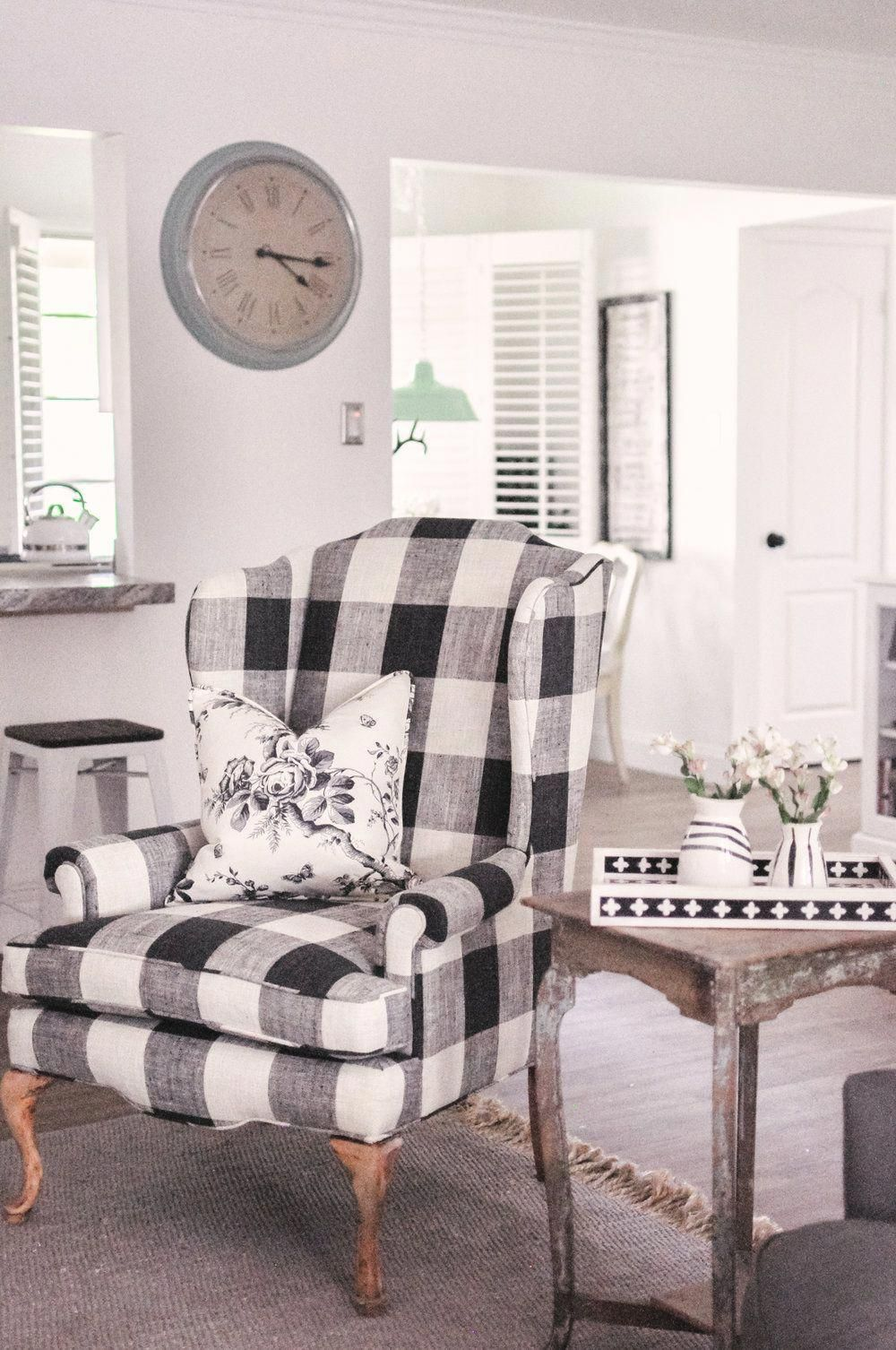 Farmhouse Living Room Makeover Home Decor in 2020