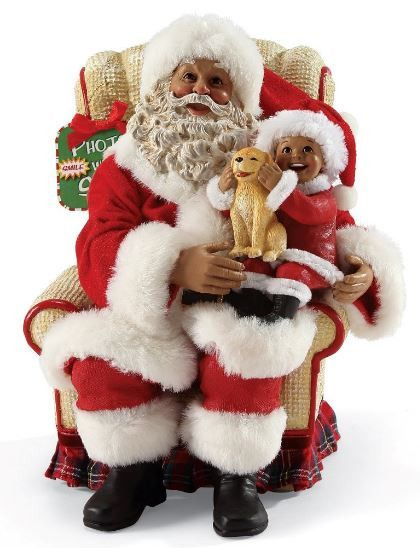 Picture With Santa African American Santa Claus It S A
