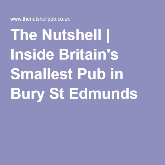 The Nutshell | Inside Britain's Smallest Pub in Bury St Edmunds