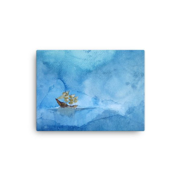 Blue Day (Canvas)