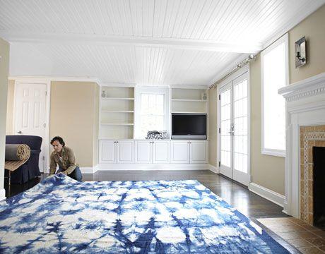 Before U0026 After. Dye CarpetLiving Room ...