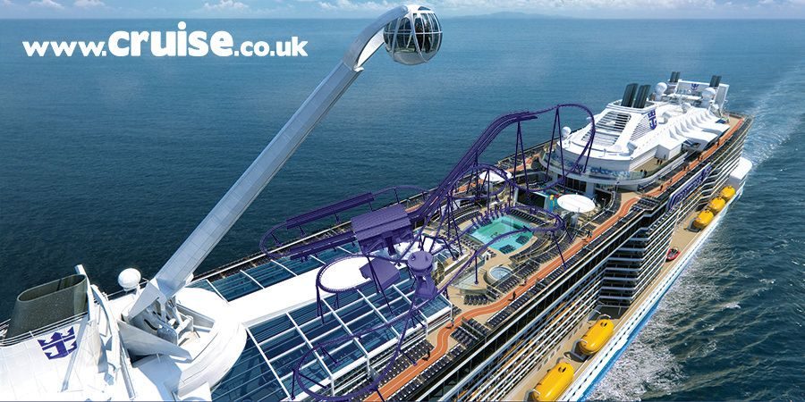 Image Result For Roller Coaster On A Cruise Ship Misc Cool Shiz - Roller coaster on a cruise ship