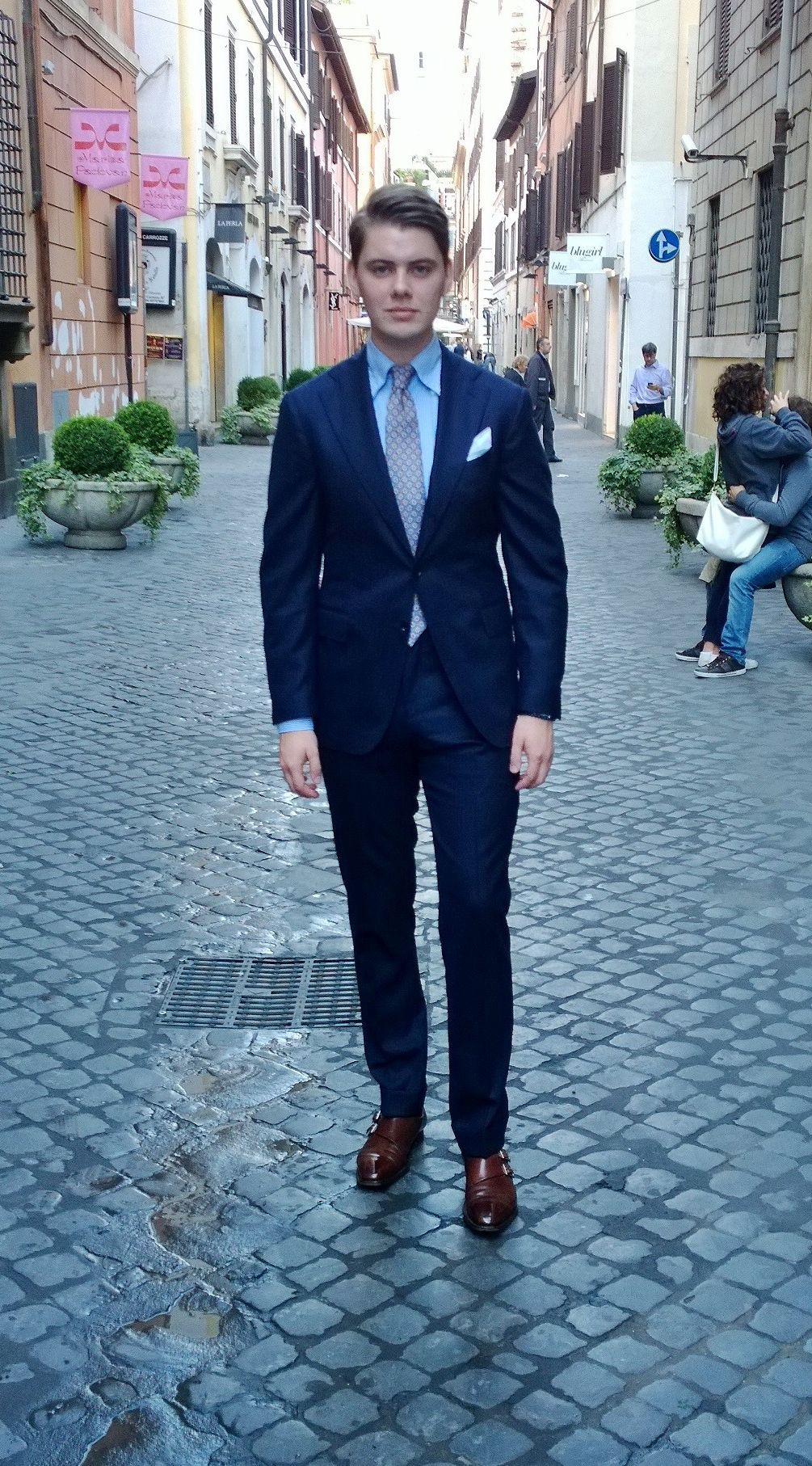 A Neapolitan suit in RomeSuit - G.abo Napoli from Spiga 3 Shirt ...