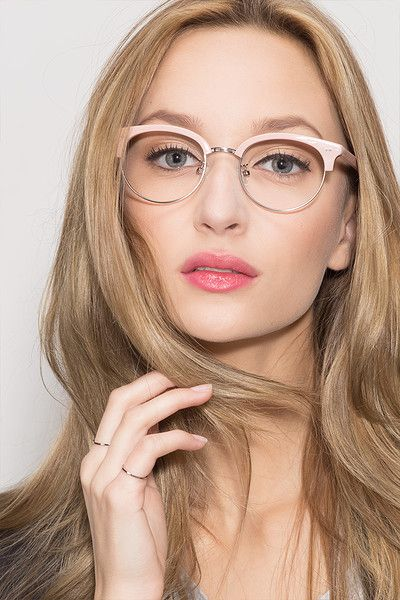 Annabel Pink Acetate Eyeglasses from EyeBuyDirect. A fashionable frame with  great quality and an affordable f78a324f4d1b