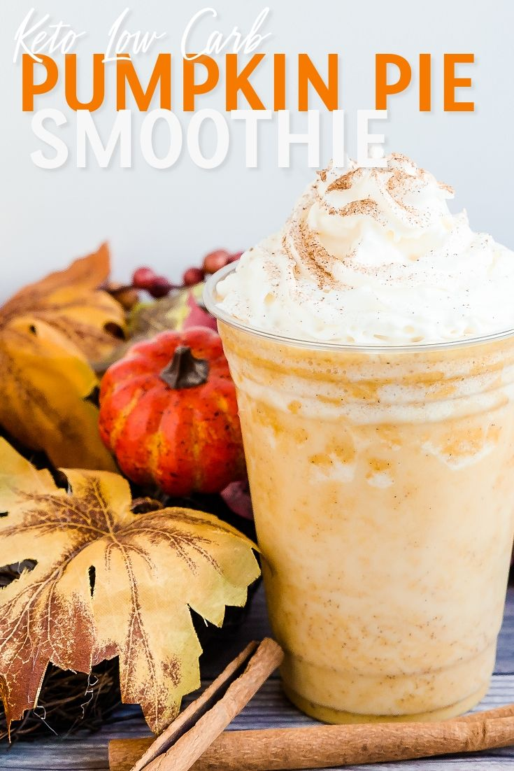 Pumpkin Pie Smoothie | LowCarbingAsian