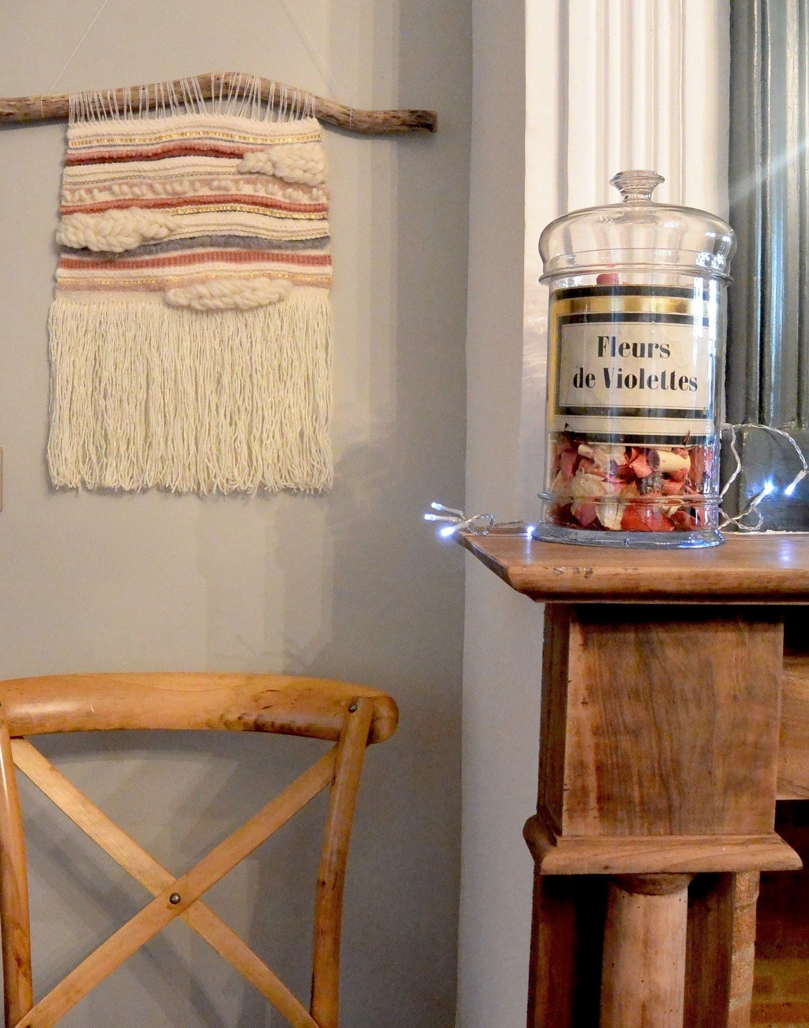 Handwoven Wall hanging by Youplaloom