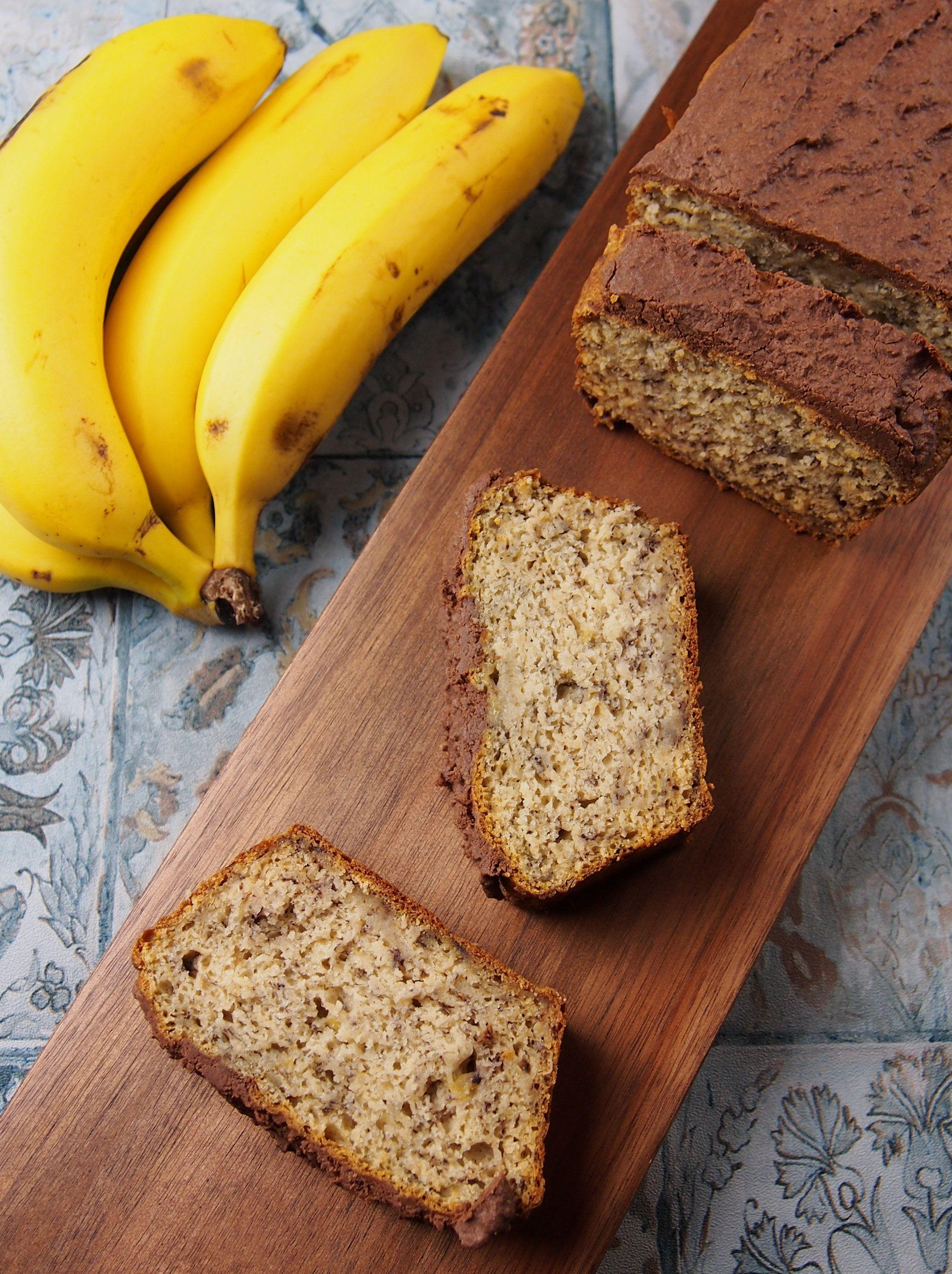 Bananenbrot Mit Kokos Vegan Rezept Bananen Brot Bananenbrot Und Gesund Backen