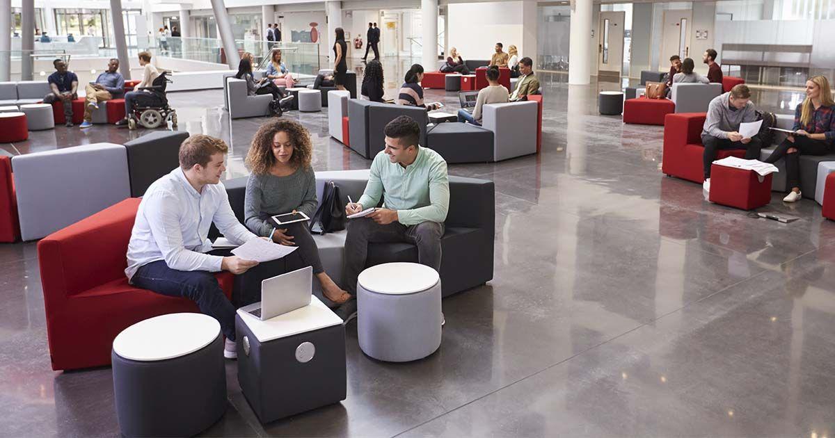 5 Modern Office Design Trends That Will Keep Employees Happy Office Design Trends Office Design Modern Office Design