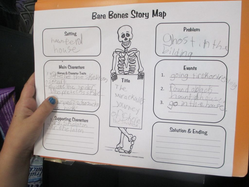 Funny Bones Story Map - Latest Memes Intended For Skeleton Book Report Template