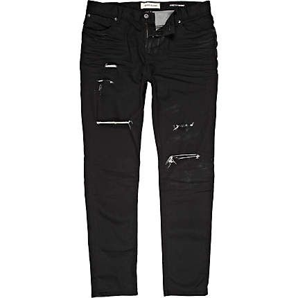 Relco Mens Skinny Jeans - Black www.modwear.co.uk | Style ...