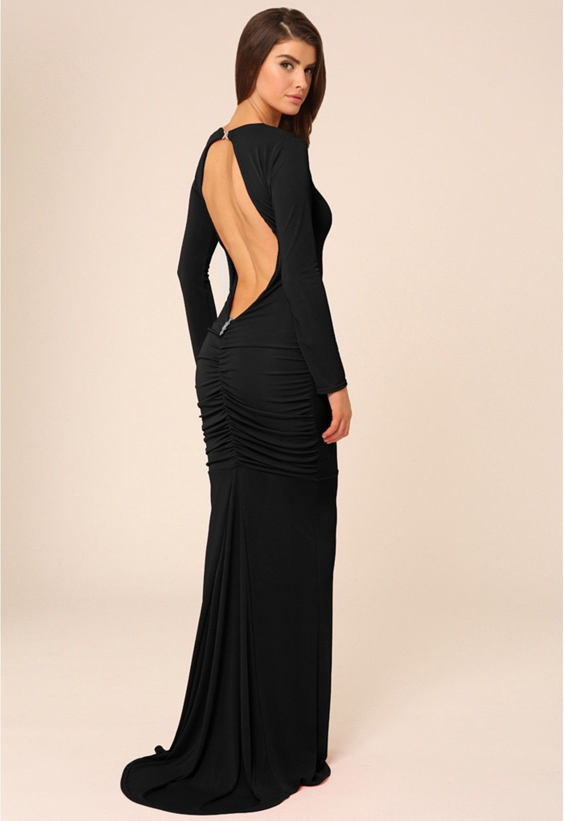 Make an understated statement in this stunning bella gown by honor
