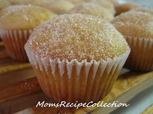 cupcakes that taste like donuts, full recipe below 1 3/4 cup (all purpose) flour 1 1/2 tsp baking powder 1/2 tsp salt 1/2 tsp nutmeg