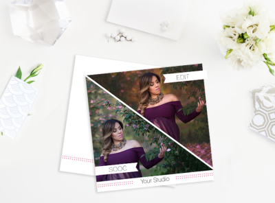 So SOOC – Before and After Marketing Templates