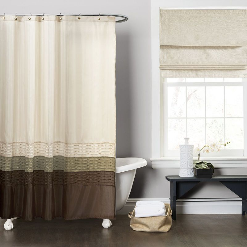 Lush Decor Lush Dcor Mia Shower Curtain Gray Shower Curtains