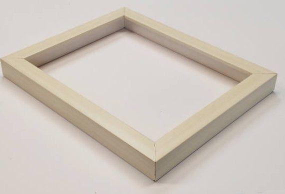 Shadowbox Gallery Wood Frame White Wash, 4x6, 5x7, 6x6, 8x8