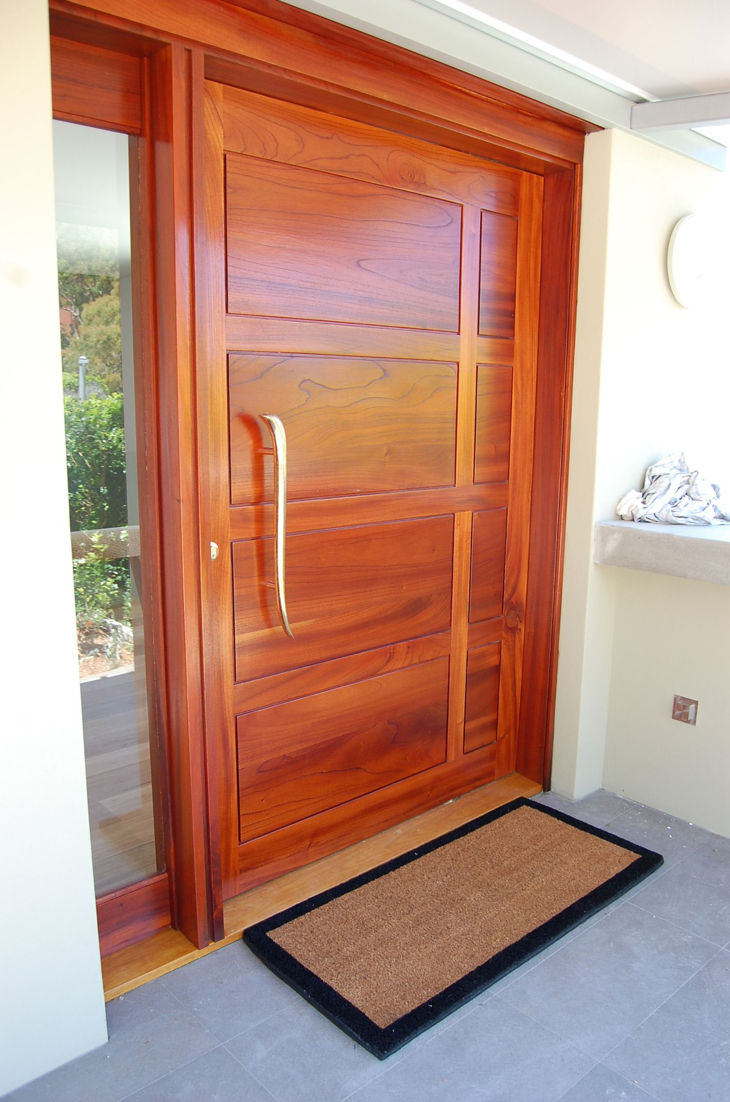 Ordinaire Red Cedar Front Door