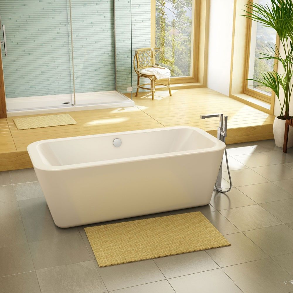 Marvelous Aria Vivace 66 Inch Acrylic Freestanding Bathtub