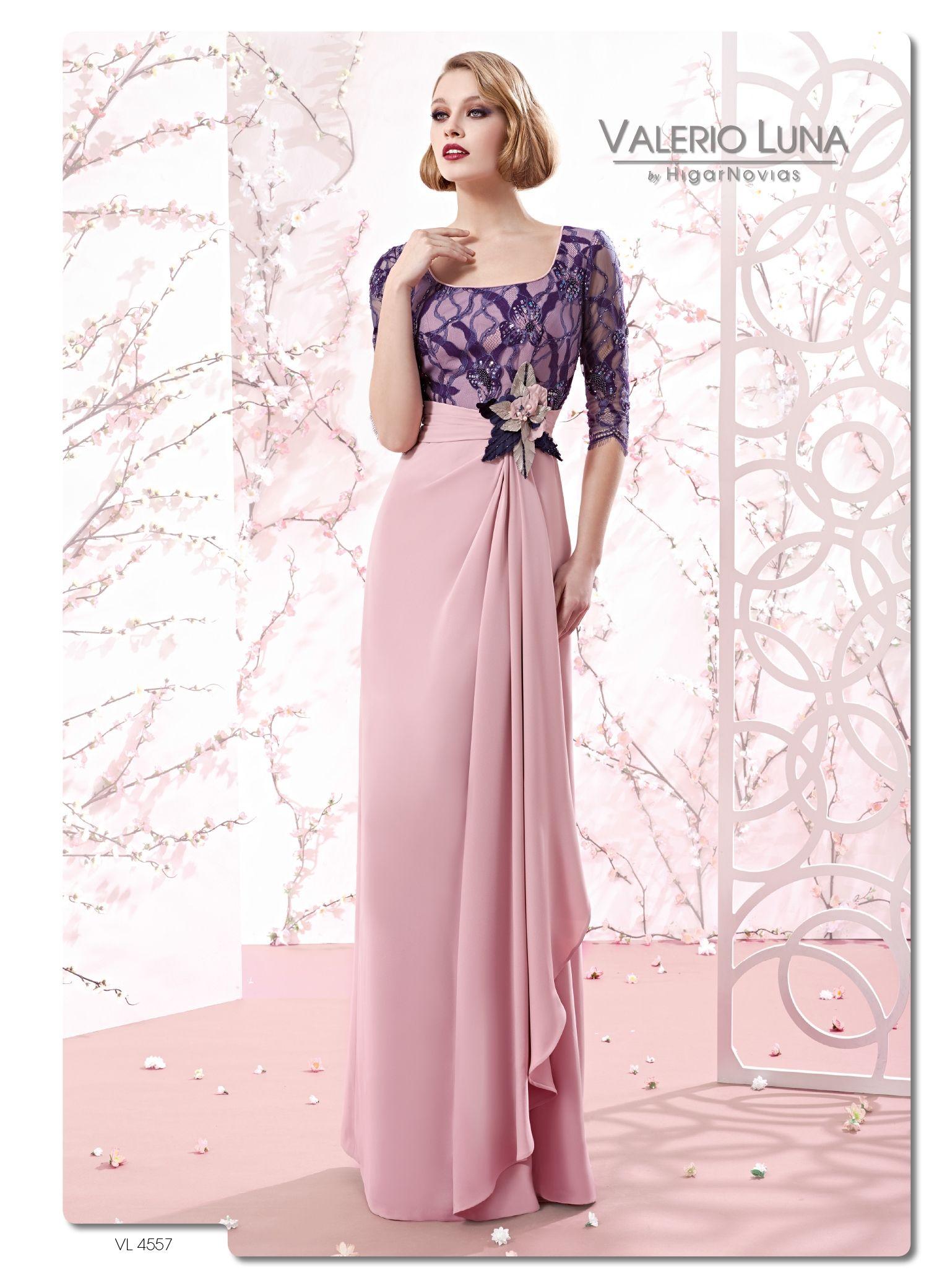 VL4557 - Vestido de Fiesta - Valerio Luna   Moda   Pinterest ...