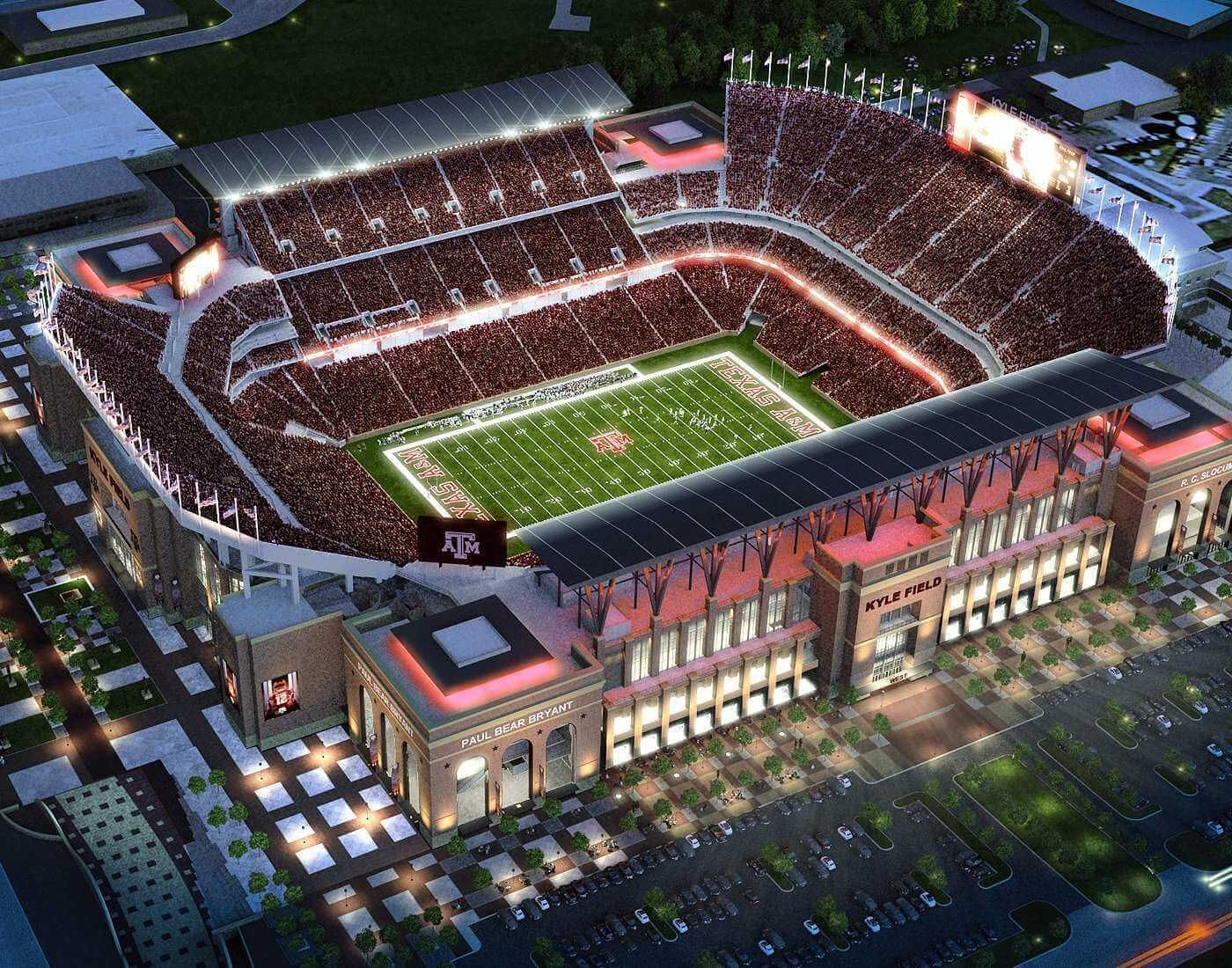 Kyle Field Texas City United States Of America Sports Venue In 2020 Kyle Field A M College Station Texas A M Football