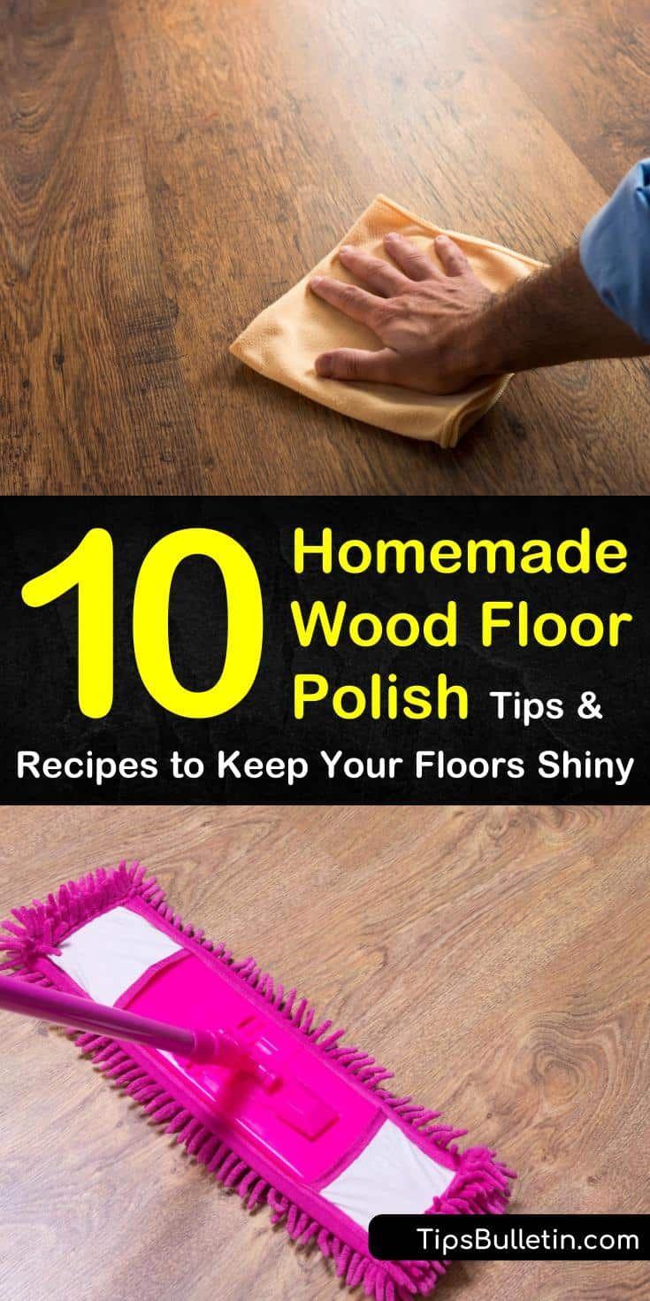 10 Simple DIY Wood Floor Polish Solutions in 2020 | Wood ...