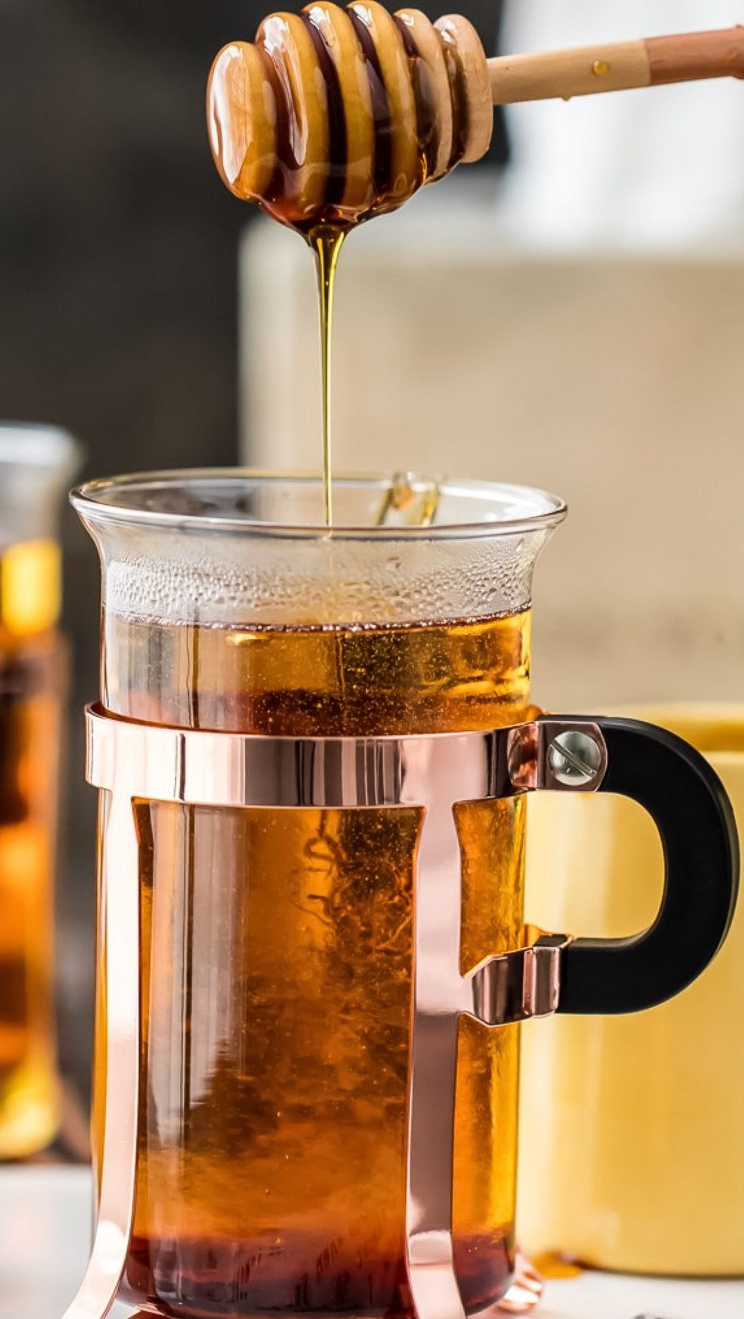 Hot toddy we do use good whiskey we also put cloves
