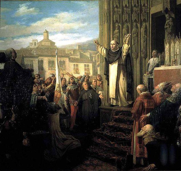 """Teófilo de la Puebla, """"El Compromiso de Caspe"""" 1867"""