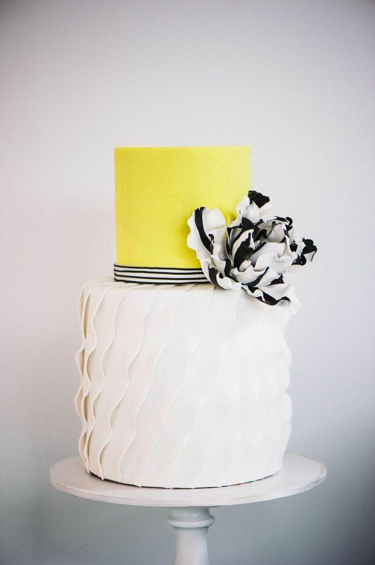 You\'re So Pretty | Wedding - The Cake | Pinterest | Yellow weddings ...