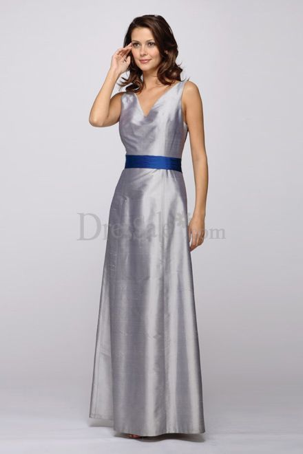 And Silver Bridesmaid Dresses