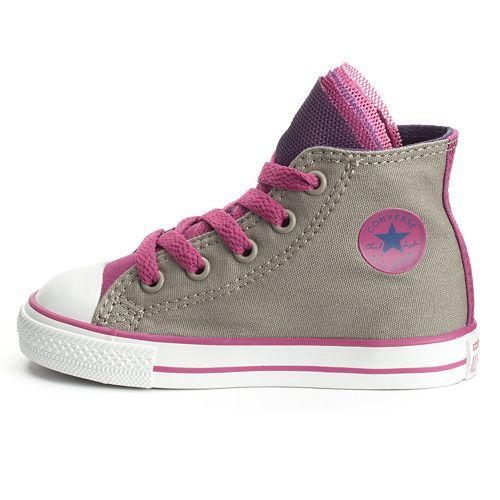 66d138588237 Toddler Converse All Star Party Mesh Multi-Tongue High-Top Sneakers ...