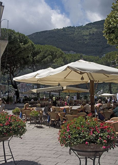 Plaza Restaurant, Ravello, Italy
