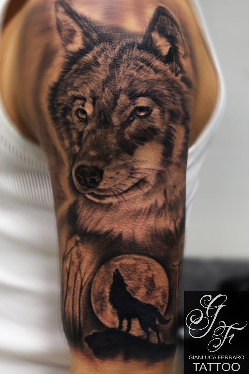Artist Gianluca Ferraro Tatto Tatuajes De Lobos