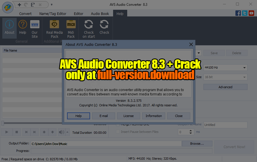 total audio converter registration key free download